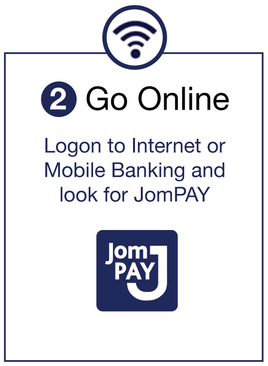 JomPAY Step 2 Go Online